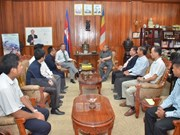 Cambodian Minister hails Vietnamese press agencies