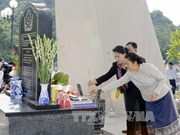 Vietnam, Lao legislative leaders commemorate Tay Tien Regiment