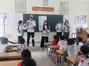 RoK's Youngsan University students volunteer in Nghe An
