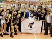 Sarmayeh Bank win Asian volleyball championship title