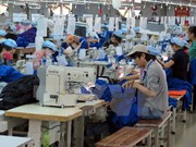 Industrial manufacturing index up in six months