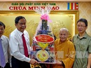 New VFF President meets religious dignitaries in Ho Chi Minh City