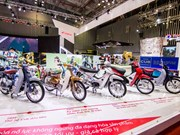 Motorcycle sales up in six months
