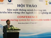 Smart production sought for sustainable textile development