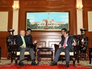 Ho Chi Minh City's leader welcomes former Mexican President