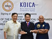 Republic of Korea to help Philippines fight crime