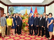 Foreign Ministry, Lao Embassy share joy over Friendship Year 2017