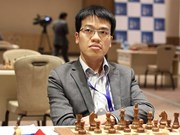 Le Quang Liem wins over world's chess champion