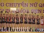 Japanese students team wins VTV Cup