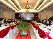 HCM City, central Lao provinces boost cooperation