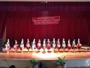 Lao artists perform in northern Vietnam