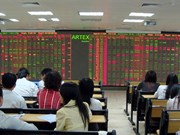 Local shares manage to recover slightly