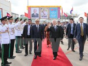 Party leader encourages Vietnam-Cambodia local-level cooperation