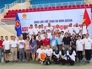 Sport event celebrates ASEAN's founding anniversary