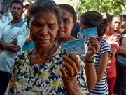 Timor Leste constituents vote for parliament members