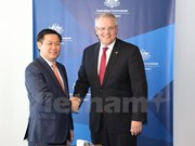 Deputy PM visits Australia to beef up bilateral ties