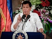 Philippine President declares to continue fight against drugs