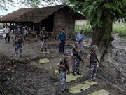 Myanmar arrests 31 terrorist suspects