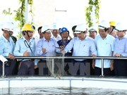 PM inspects Formosa's waste treatment system