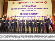 ASEAN Senior Officials' Meeting on Drug Matters opens in Hanoi