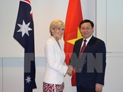 Deputy PM meets Australian officials to promote bilateral partnership