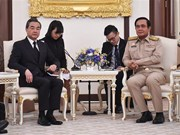 Thailand, China pledge to strengthen ties