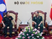 Vietnam, Laos step up defence cooperation