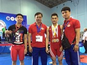 Vietnam clean up at Asian weightlifting event in Nepal