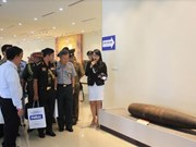 Military attachés visit Vietnam National Mine Action Centre
