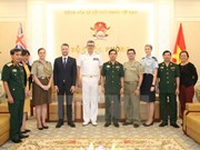 Deputy Defence Minister meets Vice Chief of Australia's Defense Force