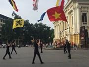 Belgian dance group in Hanoi fusion