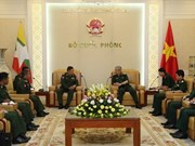 Vietnam, Myanmar boost realisation of defence cooperation MoU