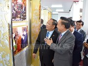 Photo exhibition on Vietnam-Laos relations opens in Xiang Khouang