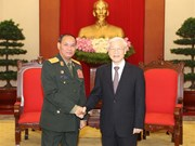 Vietnam values defence ties with Laos: Party chief