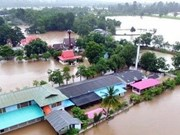 Sympathies to Thailand on flood-triggered property losses