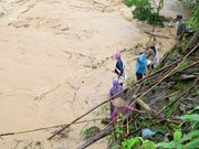 Five dead, 15 missing in floods in northern mountainous localities