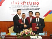 CMG.ASIA sponsors VN sport delegation at 29th SEA Games