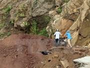 Landslide kills one in Cao Bang