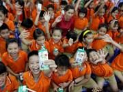 School milk programme improves nutrition of school children