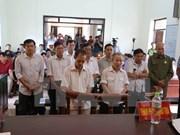 Court pronounces sentences in Dong Tam land case