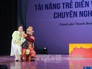 National competition seeks talents for traditional arts