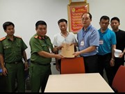 Hanoi police hand over wanted Chinese to Chinese police