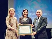VN film awarded Certificate of Appreciation