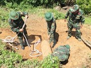 Unexploded bombs found in Dak Lak province