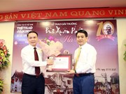 Bui Xuan Phai – For the Love of Hanoi Awards mark 10th edition
