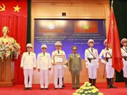 Public Security Ministry honoured with Lao Order