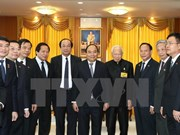 PM meets head of Thailand's Privy Council, top legislator
