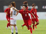 VN female, male footballers reap more wins at SEA Games