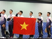 SEA Games 29: Vietnam wins gold in gymnastics