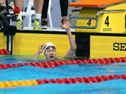 SEA Games 29: Swimmer Anh Vien grabs more gold for Vietnam
